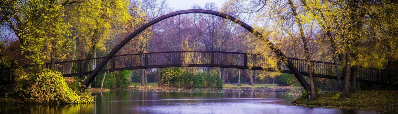 Tenny Park Bridge in Madison, Wisconsin